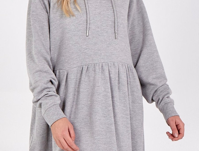 Hooded Soft Dress