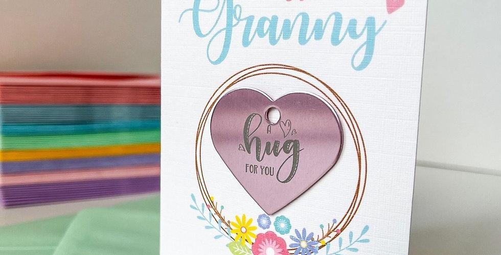A Hug For My Granny Card