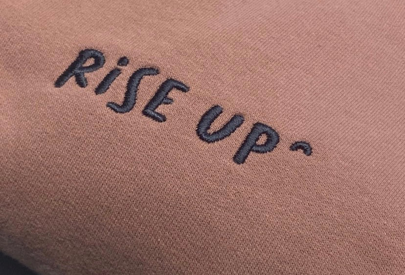 Rise Up Sweater / Dusky Pink