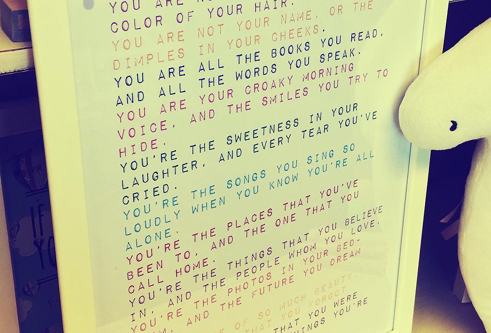 You Are Not Your Age Print