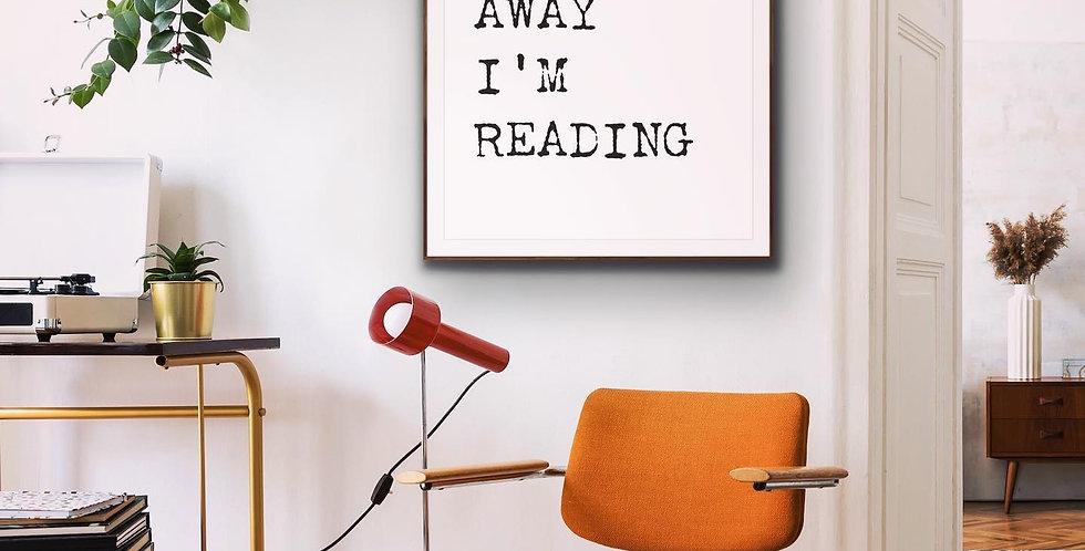 I'm Reading Print
