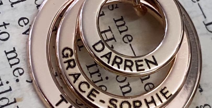 Trio Ring Necklace