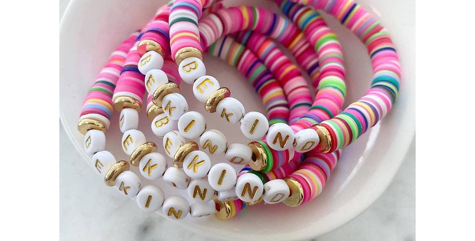 Be Kind Colour Pop Bracelet