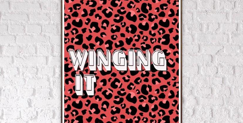 Winging It Leopard Print