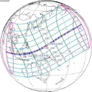 Влияние солнечного затмения 9 марта на геополитику