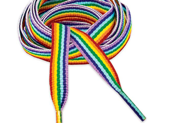 Rainbow Flat Sport Lace