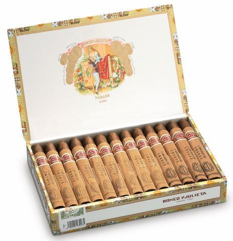 Romeo y Julieta Cedros de Luxe No. 2 - Box of 25 Cigars