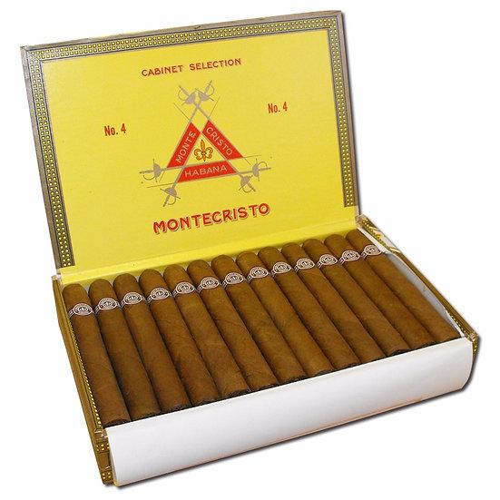 Montecristo No 4 - Box of 25 Cigars