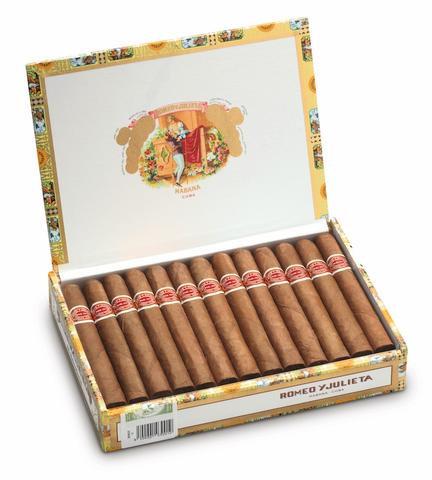 Romeo y Julieta Belvederes - Box of 25 Cigars