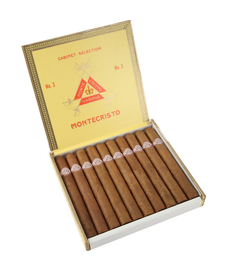 Montecristo No 3 - Box of 25 Cigars