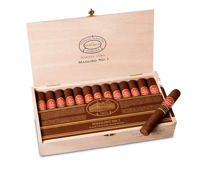 Partagas Maduro No. 1 - Box of 25 Cigars