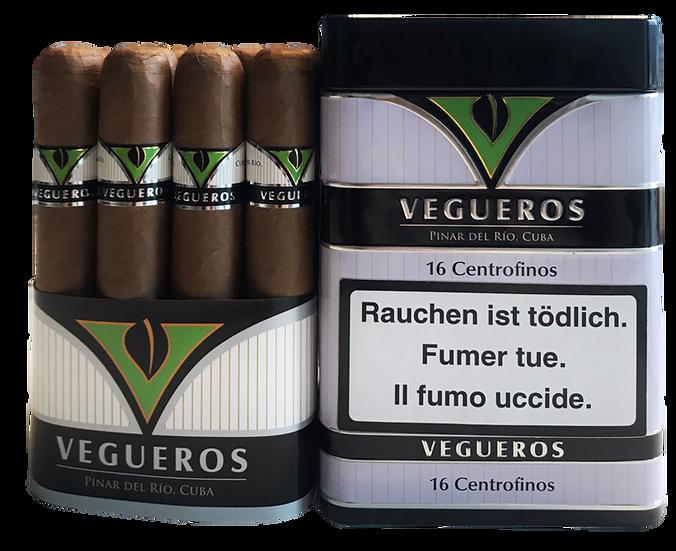 Vegueros Centrofinos - Box of 16 Cigars