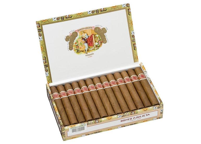 Romeo y Julieta Regalias de Londres - Box of 25 Cigars