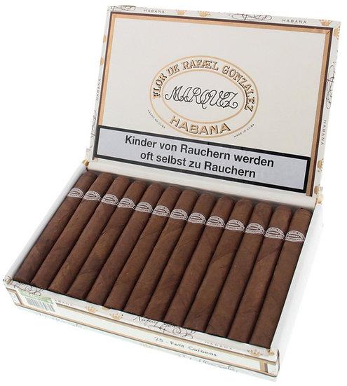 Rafael Gonzalez Petit Coronas - Box of 25 Cigars