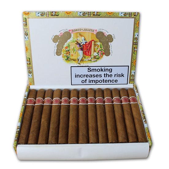 Romeo y Julieta Petit Coronas - Box of 25 Cigars