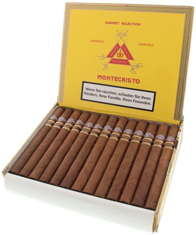 Montecristo Churchills Añejados - Box of 25 Cigars