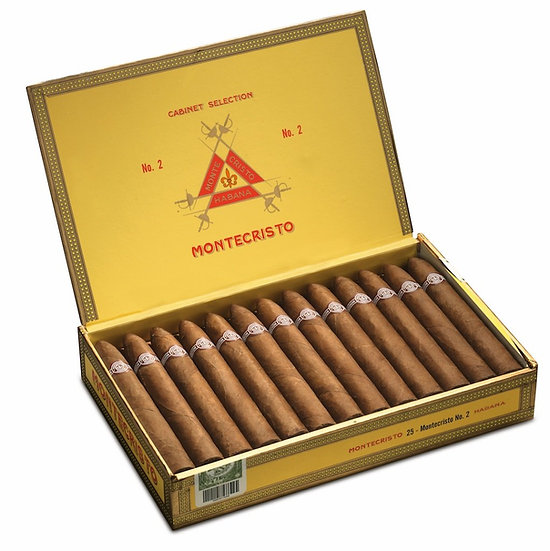 Montecristo No 2 - Box of 25 Cigars