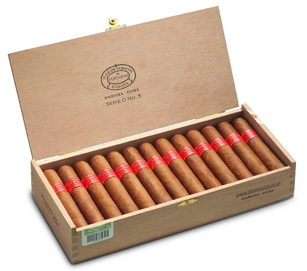 Partagas Serie D No. 5 - Box of 25 Cigars
