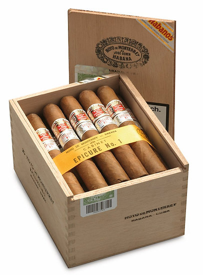 Hoyo de Monterrey Epicure No. 1- Box of 25 Cigars