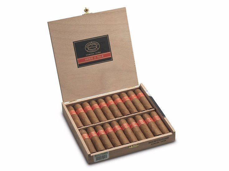 Partagas Serie D No. 6 - Box of 20 Cigars