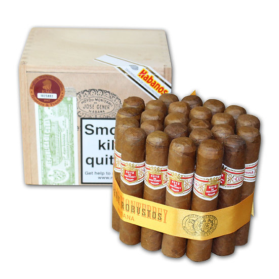 Hoyo de Monterrey Petit Robusto - Box of 25 Cigars