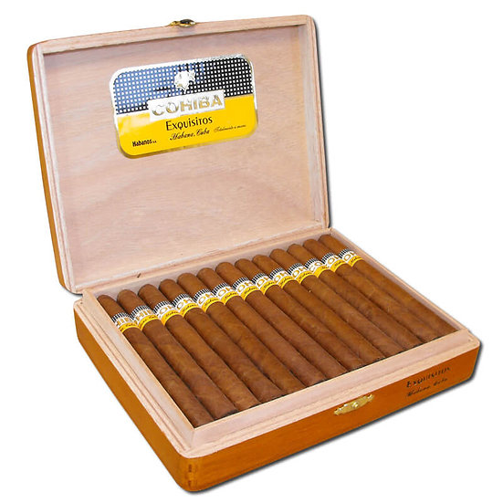 Cohiba Exquisitos - Box of 25 Cigars