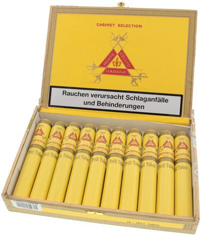 Montecristo Petit Tubos - Box of 25 Cigars