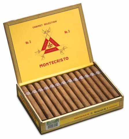 Montecristo No. 3 - Box of 25 Cigars