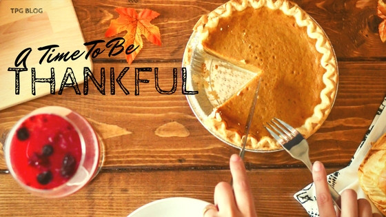 A Time To Be Thankful