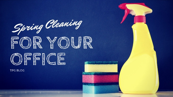 Spring Cleaning for Your Office