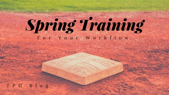 Spring Training for Your Workflow