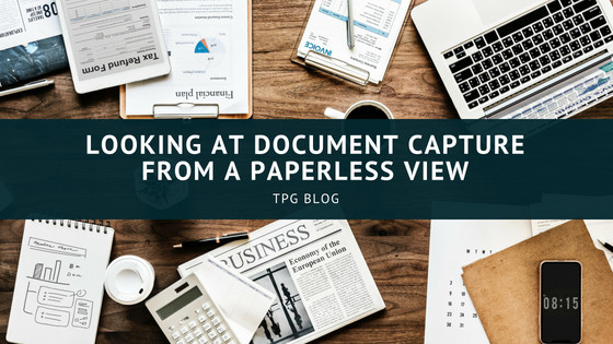 document capture-paperless office-document management