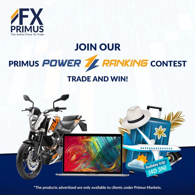 FXPRIMUS SUPER IB PROMOTIONS