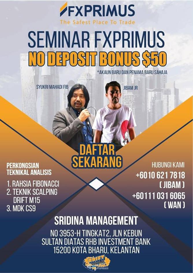 [SEMINAR] Orang Kelantan Beruntung!