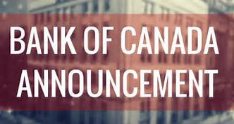 News Alert - BOC Interest Rate Decision