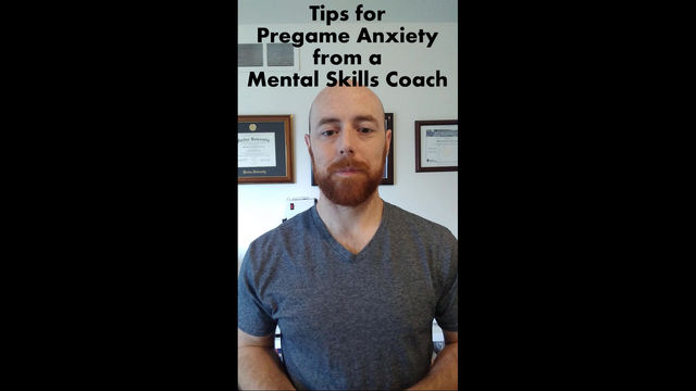 Tips for Pregame Anxiety