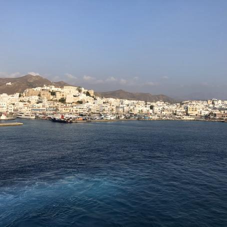 Naxos? Preferisco Paros! Le Cicladi. Passare l'inverno nel Mediterraneo.