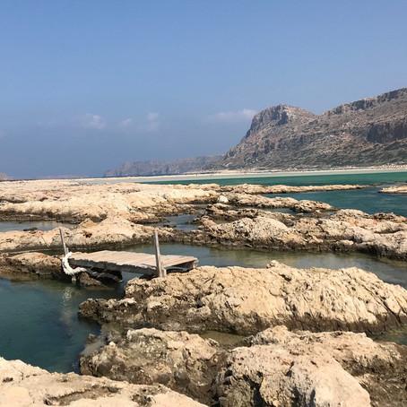 Creta, il ponte di Bálos...