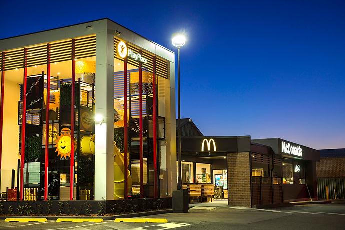 Gunnedah McDonald's PlayPlace. McCafe Coffee