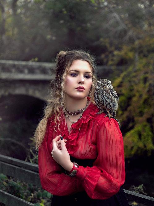 Lady of the birds I Prints