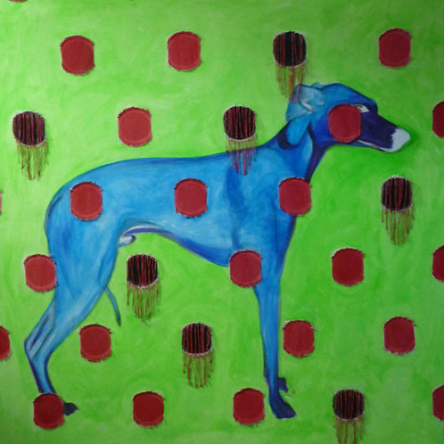 Art Print   Blue Hound