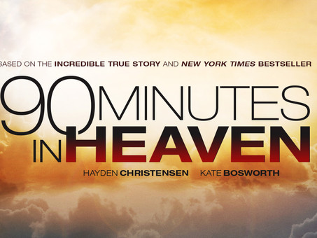 NEW FILM '90 MINUTES IN HEAVEN' OUT IN THEATRES NOW