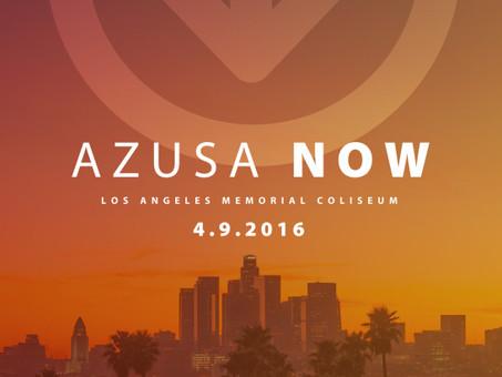 "LA Coliseum Revival ""THE CALL:AZUZA NOW"""