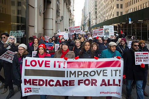 Health Care for All March & Banner (1).j