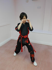 Hampshire TaeKwonDo Academy junior student