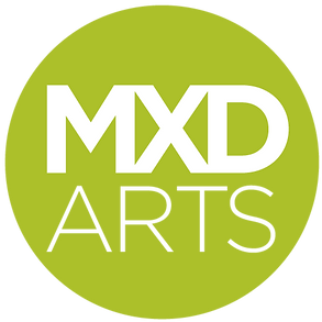 MXD Arts logo green