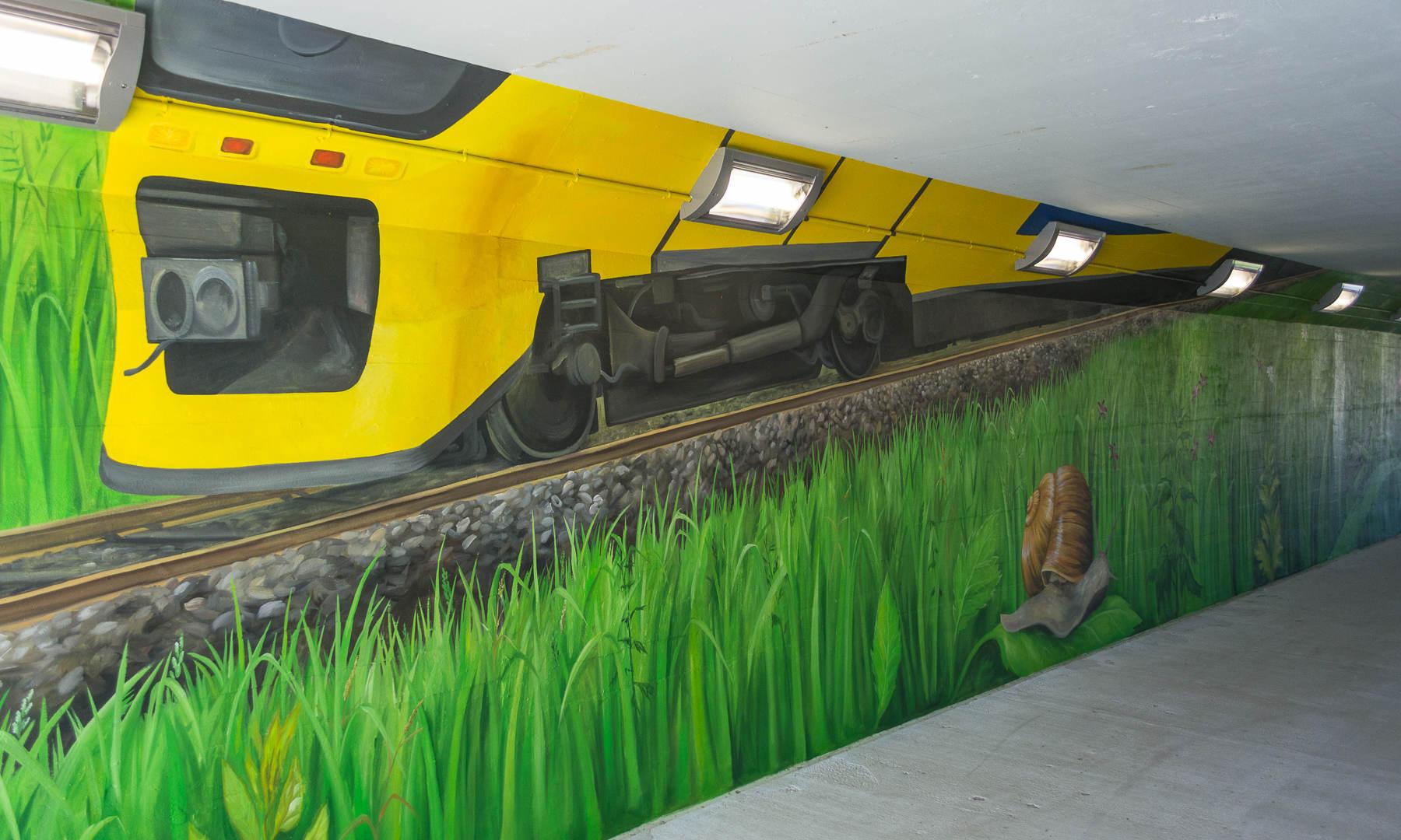 Zandsloottunnel, Sassenheim