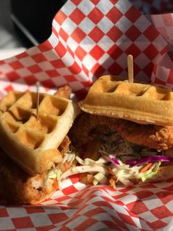 Waffle Chicken Sandwich