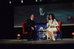 John Travolta and Natacha Noël