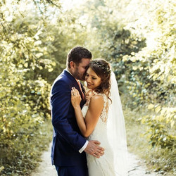 Wedding hair: Miss D, Reigate,Surrey